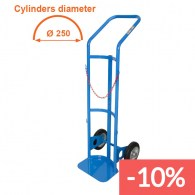 40/50 liters cylinders trolley