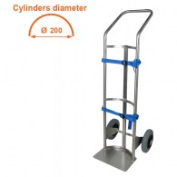 stainless steel cylinder holder