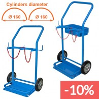 double cylinders trolley 14 lt