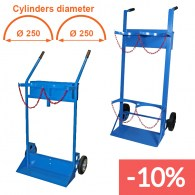 40/50 liters cylinders trolleys