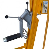 manual winch lifter for reels