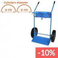 gas cylinder trolley for construction sites
